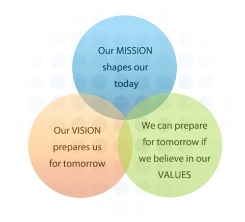 Vision - Mission - Values