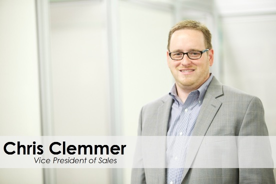 Chris Clemmer Bio - Vice President of Sales