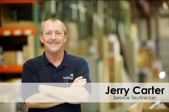 Jerry Carter Bio - Service Technician